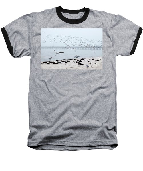 Shorebirds Baseball T-Shirt