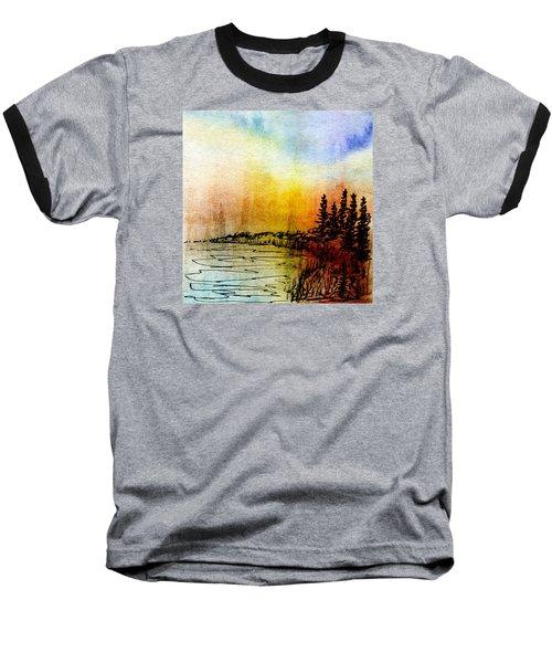 Shoreline Baseball T-Shirt by R Kyllo