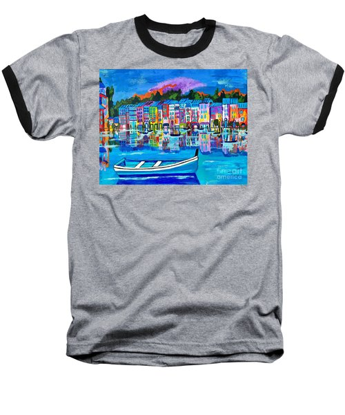 Shores Of Italy Baseball T-Shirt