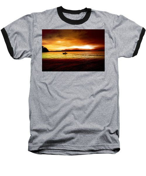Shores Of The Soul Baseball T-Shirt by Holly Kempe