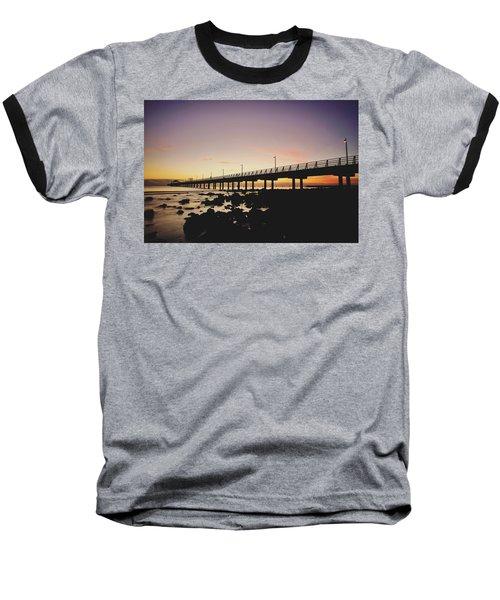 Shorncliffe Pier At Dawn Baseball T-Shirt