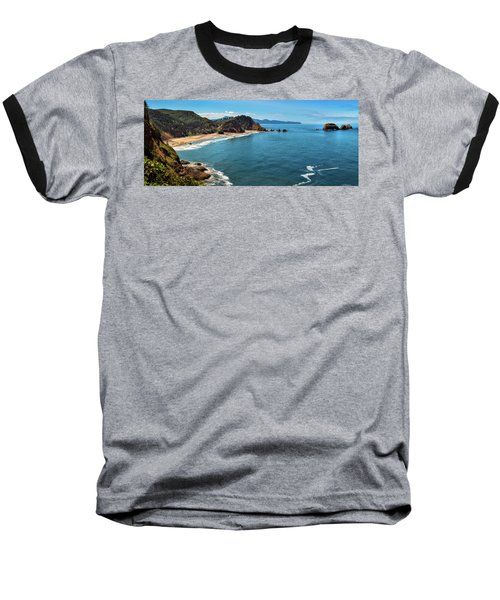 Short Beach, Oregon Baseball T-Shirt