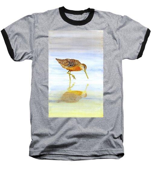 Short-billed Dowitcher Baseball T-Shirt