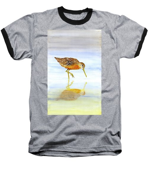 Short-billed Dowitcher Baseball T-Shirt