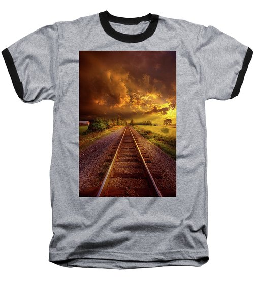Baseball T-Shirt featuring the photograph Short Stories To Tell by Phil Koch