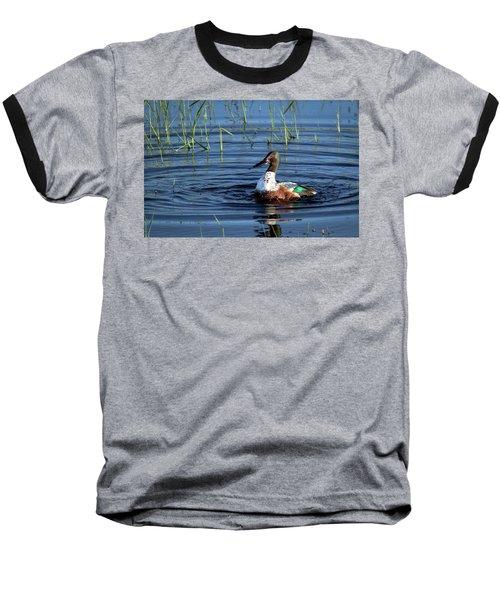 Baseball T-Shirt featuring the photograph Shoveler by Jean Noren