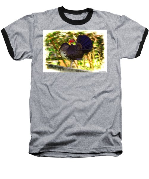Baseball T-Shirt featuring the photograph Show Off 01 by Kevin Chippindall