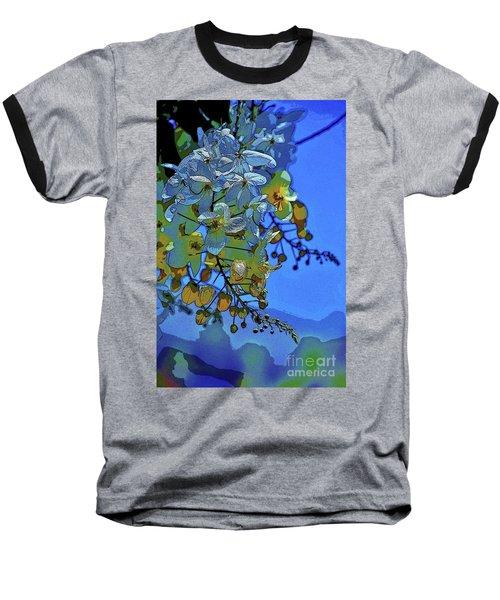 Shower Tree Exposed Baseball T-Shirt by Craig Wood