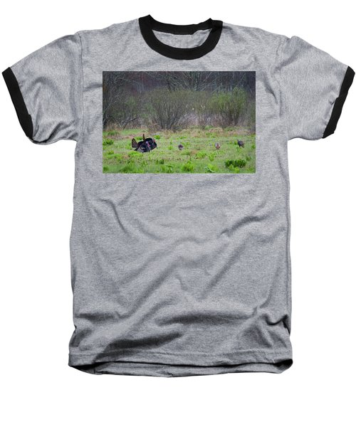 Baseball T-Shirt featuring the photograph Showing Off by Bill Wakeley