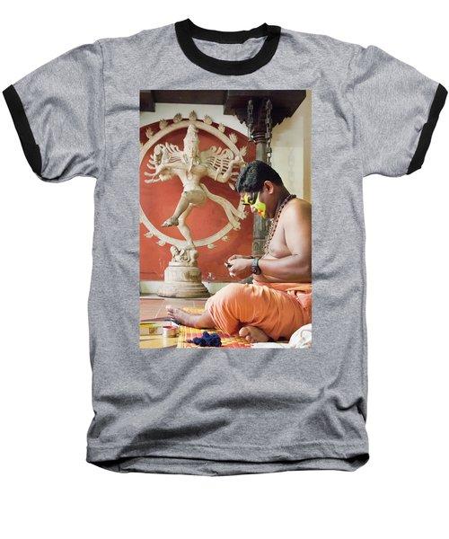Kathakali Make-up Baseball T-Shirt