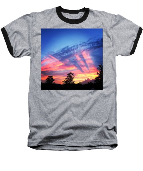 Showtime Sunset Baseball T-Shirt