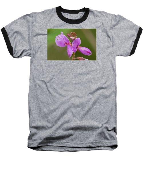 Showy Tick Trefoil Baseball T-Shirt