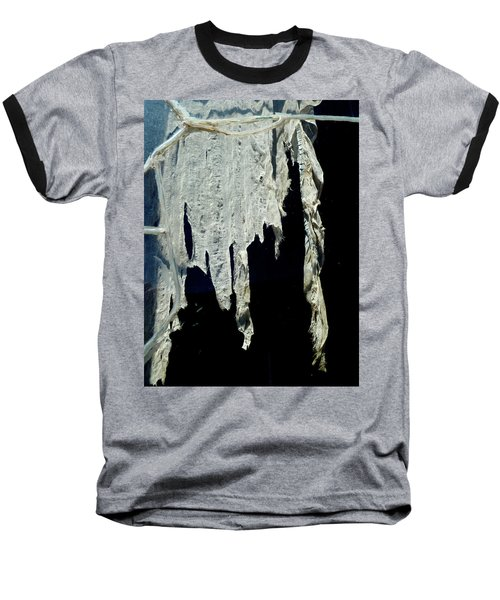 Shredded Curtains Baseball T-Shirt