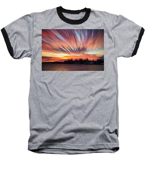 Shredded Sunset Baseball T-Shirt