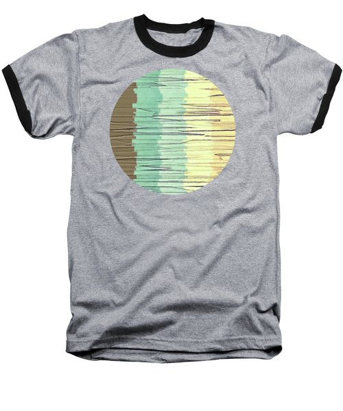 Shreds Of Color 2 Baseball T-Shirt