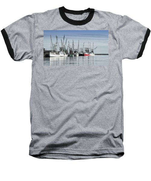 Shrimper's Day Is Done Baseball T-Shirt