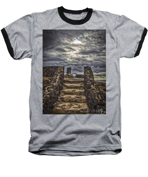 Baseball T-Shirt featuring the photograph Shrine To Drowned Fishermen by Mitch Shindelbower