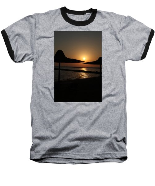 Baseball T-Shirt featuring the photograph Shuldersol by Jez C Self