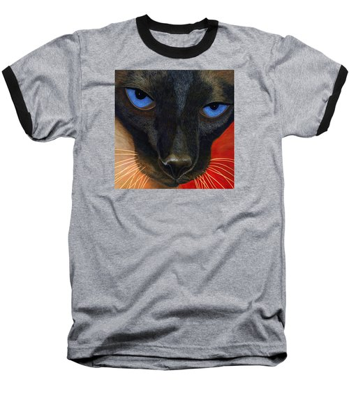 Siamese Baseball T-Shirt