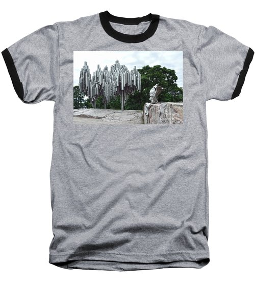 Sibelius Monument Baseball T-Shirt