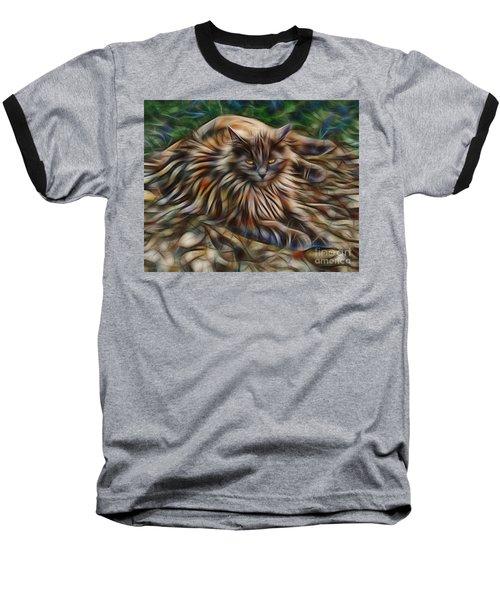 Siberian Attitude Baseball T-Shirt by John Robert Beck