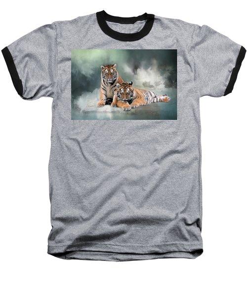 Siberian Twins Baseball T-Shirt