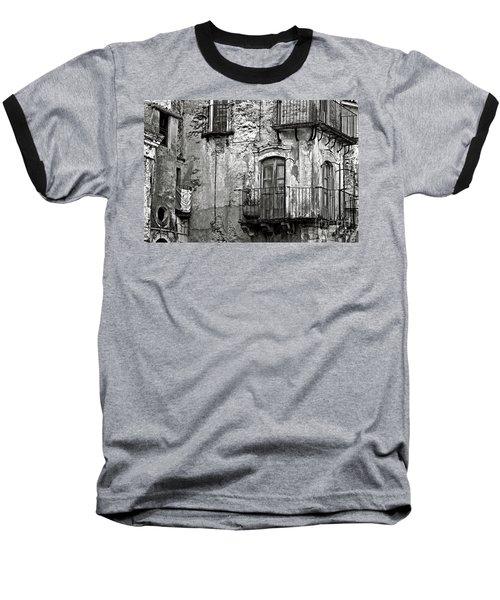 Sicilian Medieval Facade Baseball T-Shirt