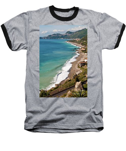Sicilian Sea Sound Baseball T-Shirt