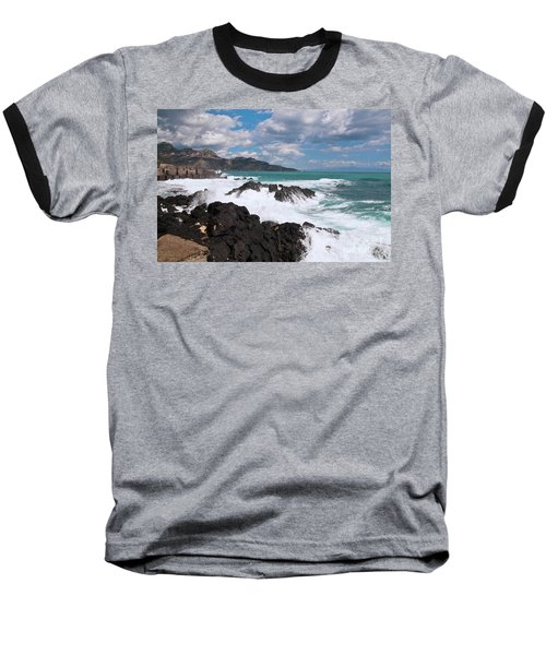 Sicilian Stormy Sound Baseball T-Shirt