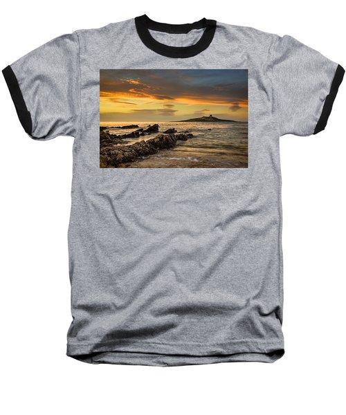 Sicilian Sunset Isola Delle Femmine Baseball T-Shirt