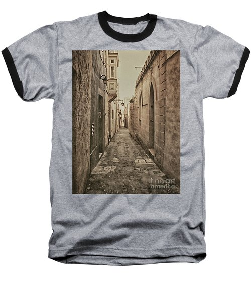Side Street Malta Baseball T-Shirt