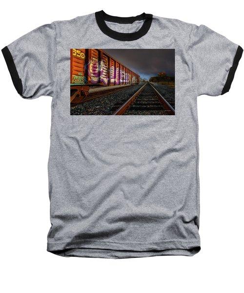 Sidetracked Baseball T-Shirt