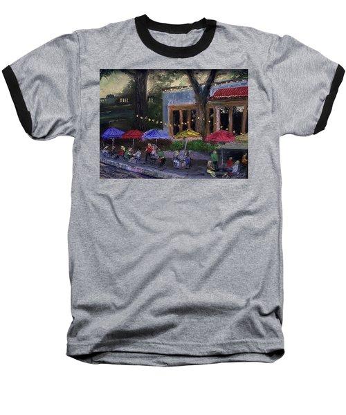 Sidewalk Cafe Baseball T-Shirt