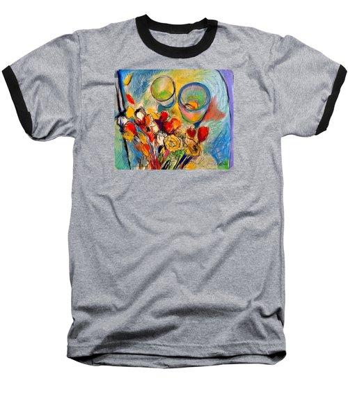 Sidewalk Stille-life Baseball T-Shirt