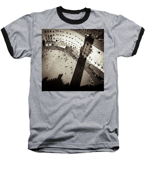 Siena From Above Baseball T-Shirt