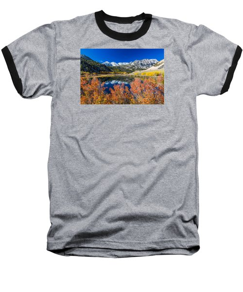 Sierra Foliage Baseball T-Shirt