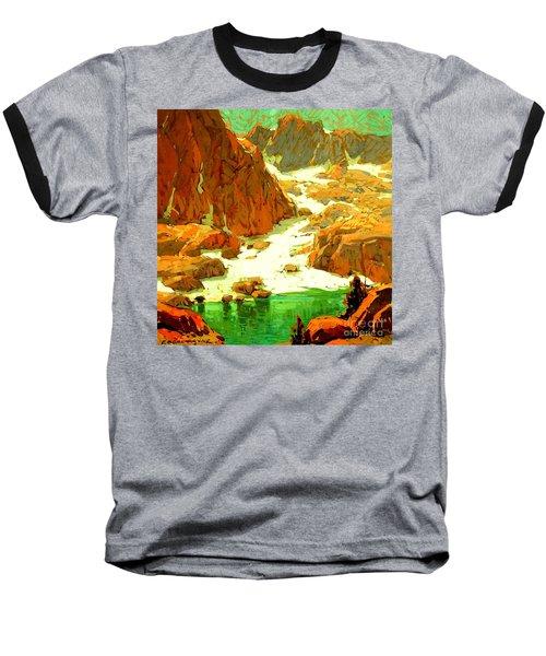 Sierra Landscape Circa 1920 Baseball T-Shirt