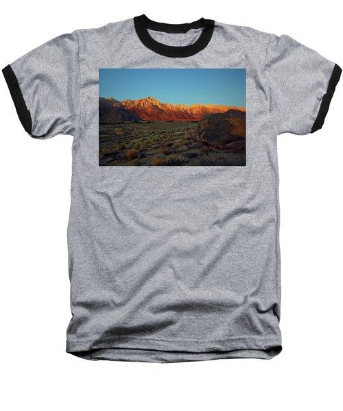 Sierra Nevada Sunrise Baseball T-Shirt