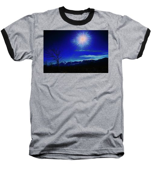 Sierra Night Baseball T-Shirt