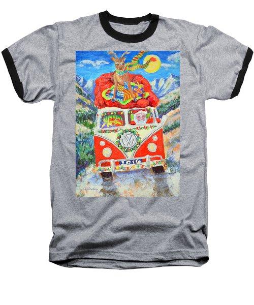 Sierra Santa Baseball T-Shirt by Li Newton