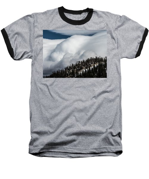 Sierra Stormclouds Baseball T-Shirt