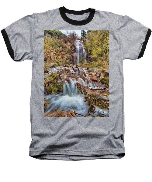 Sierra Waterfall Baseball T-Shirt