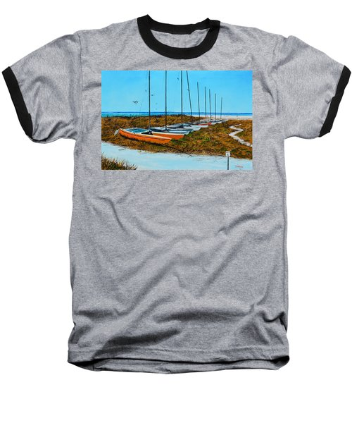 Siesta Key Access #8 Catamarans Baseball T-Shirt