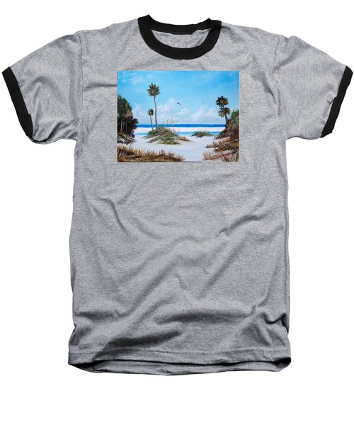 Siesta Key Fun Baseball T-Shirt