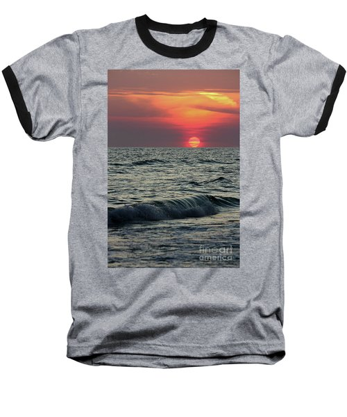 Siesta Key Sunset Baseball T-Shirt