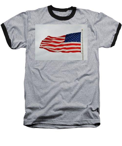 Sign Of Freedom Baseball T-Shirt