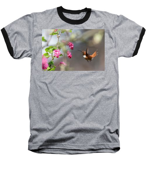 Sign Of Spring 3 Baseball T-Shirt by Randy Hall