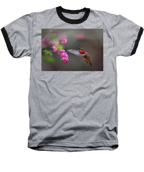 Sign Of Spring Baseball T-Shirt by Randy Hall