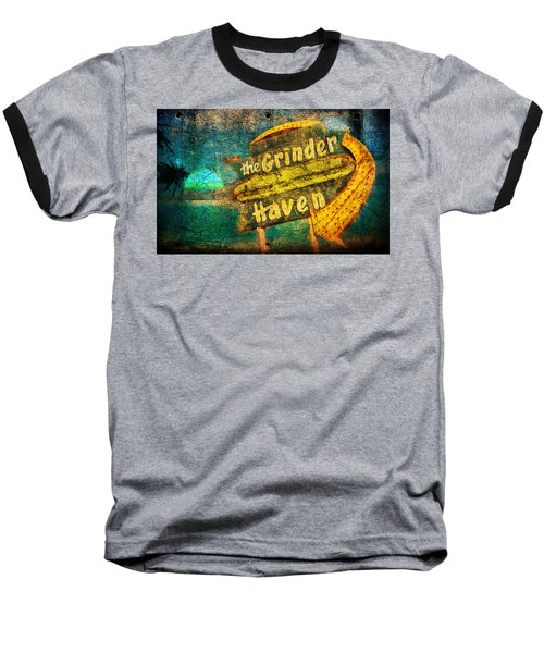 Sign Of The Times Baseball T-Shirt by Greg Sharpe