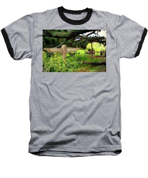 Signpost In Hobbiton Baseball T-Shirt